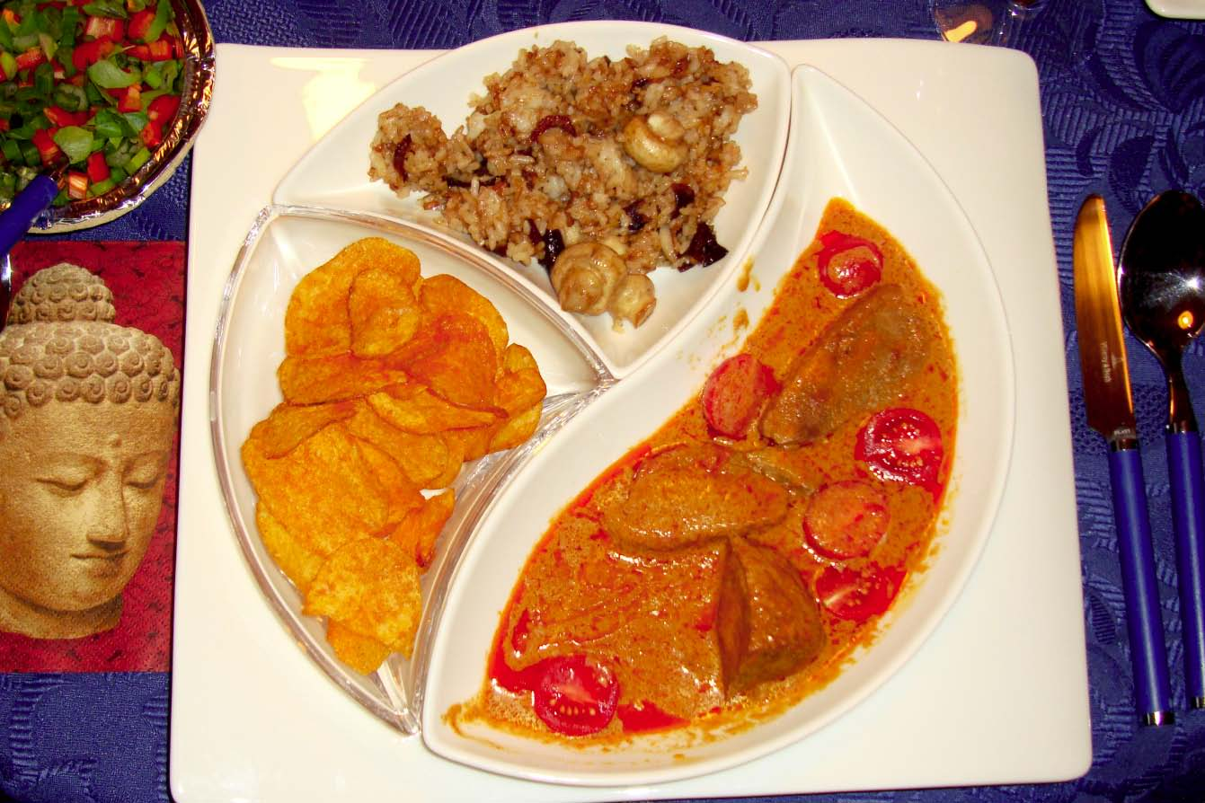 Kaeng ped yang (Rotes Enten-Curry)
